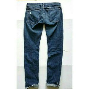rag & bone Jeans - Rag & Bone Dre Destroyed Raw Hem Boyfriend Jeans
